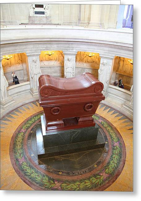 The Tombs At Les Invalides - Paris France - 01132 Greeting Card by DC Photographer