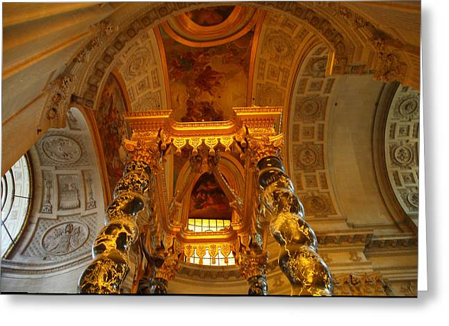The Tombs At Les Invalides - Paris France - 011324 Greeting Card