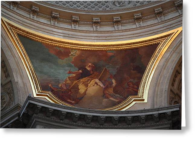 The Tombs At Les Invalides - Paris France - 011331 Greeting Card by DC Photographer
