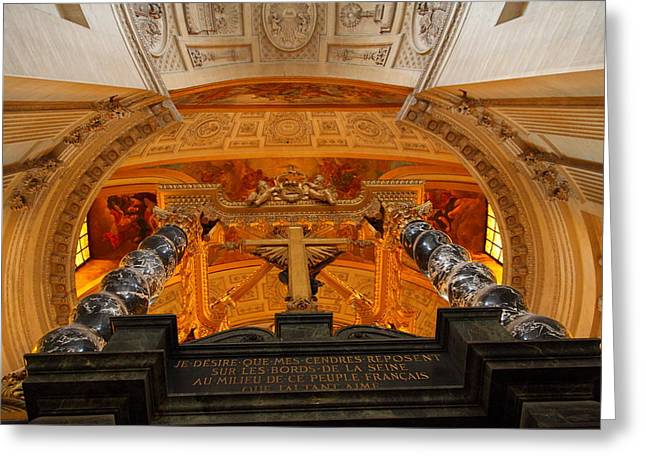 The Tombs At Les Invalides - Paris France - 011337 Greeting Card by DC Photographer