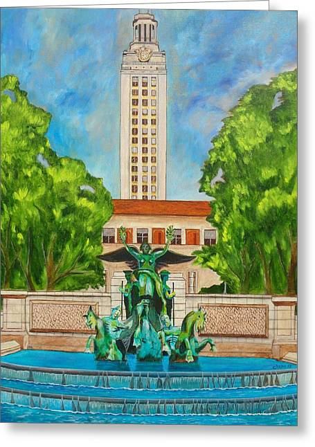 The Tower - Austin Texas Greeting Card