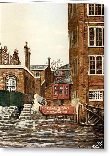 The Town Of Ramsgate Wapping London Greeting Card by Mackenzie Moulton