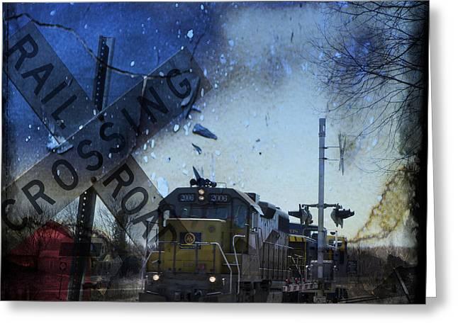 The Train Greeting Card