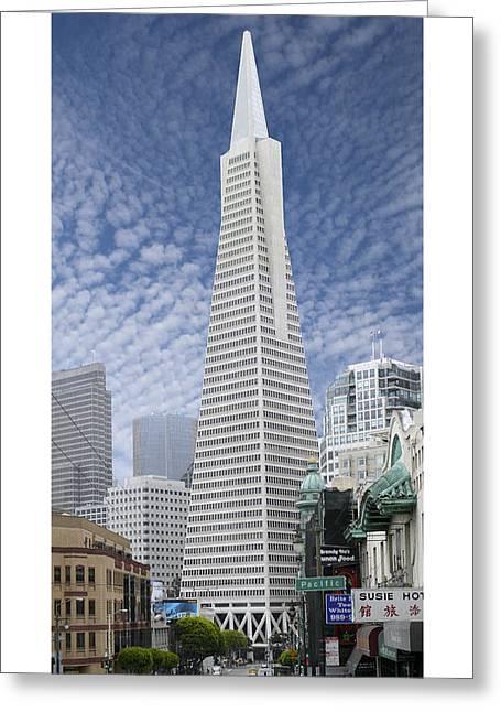 The Transamerica Pyramid - San Francisco Greeting Card