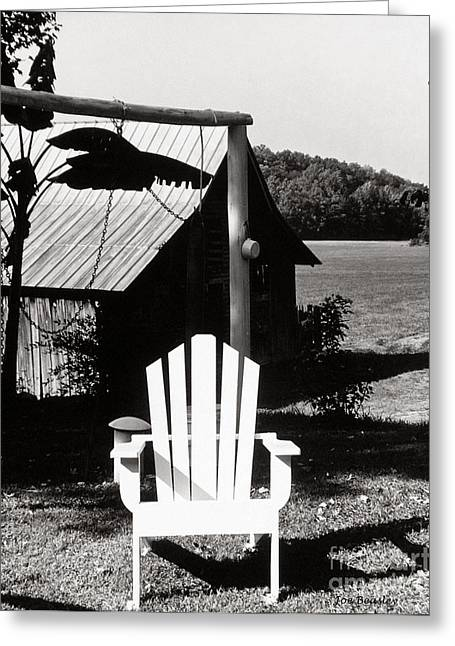 The Transporter Chair Greeting Card by   Joe Beasley