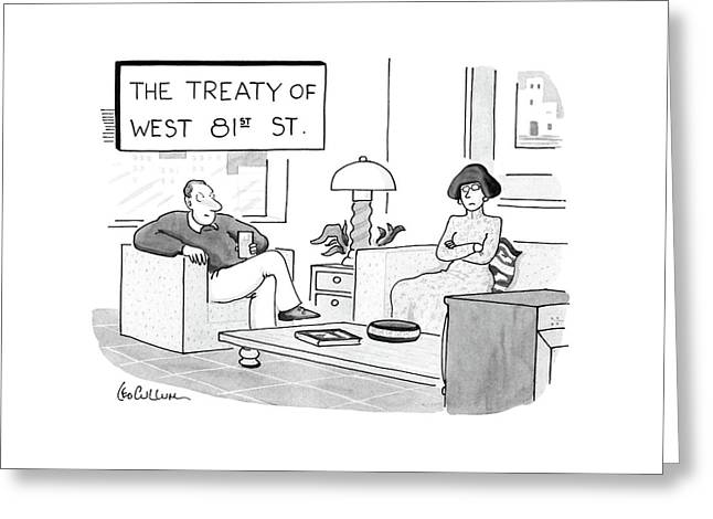 The Treaty Of West 81st Street Greeting Card