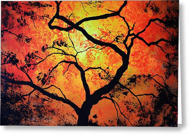 The Tree Of Life #1 Greeting Card