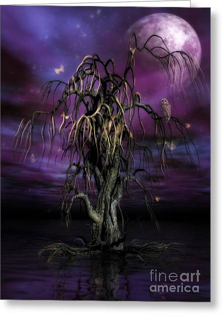 The Tree Of Sawols Greeting Card
