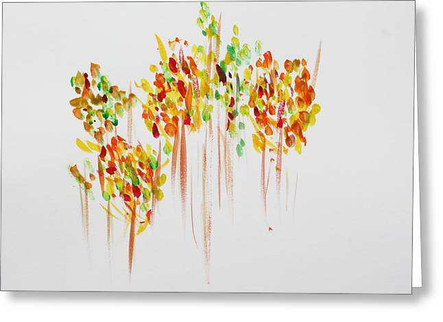 The Trees Are Dancing Greeting Card by Tom Atkins