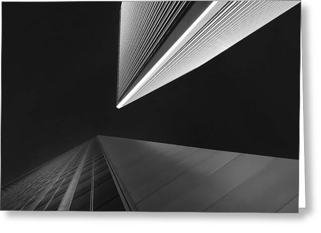 Greeting Card featuring the photograph The Tricorn Towers by Michael Hope