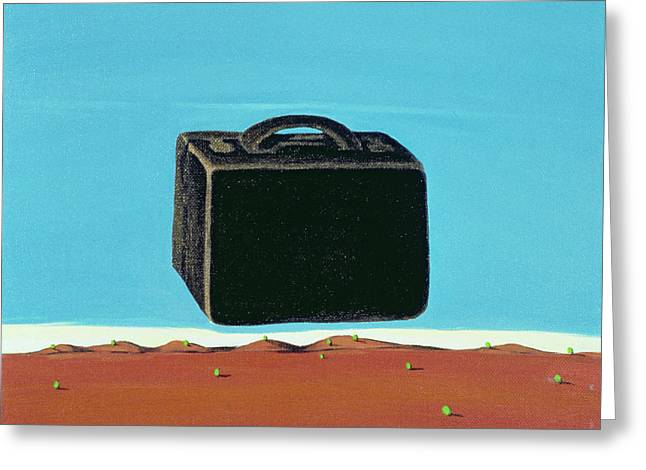The Trip, 1999 Greeting Card by Marjorie Weiss