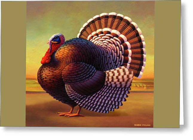 The Turkey Greeting Card