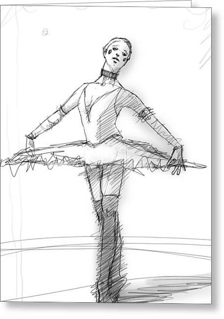 the Tutu Greeting Card