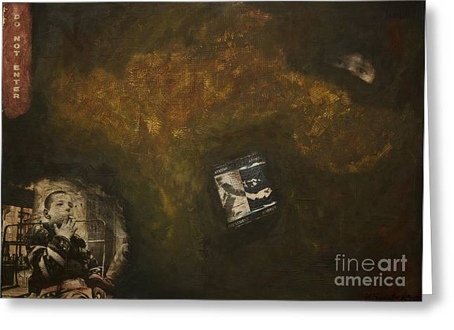 The Underground Greeting Card by Kamil Swiatek