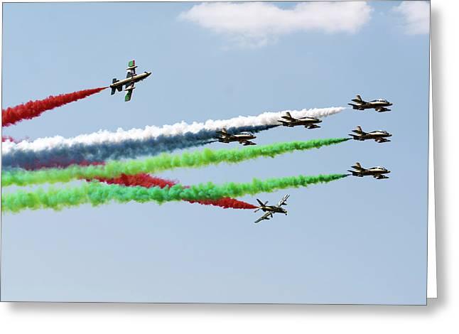 The United Arab Emirates Al Fursan Greeting Card