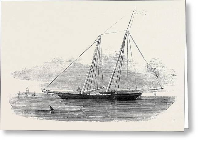 The United States Clipper Yacht America Greeting Card