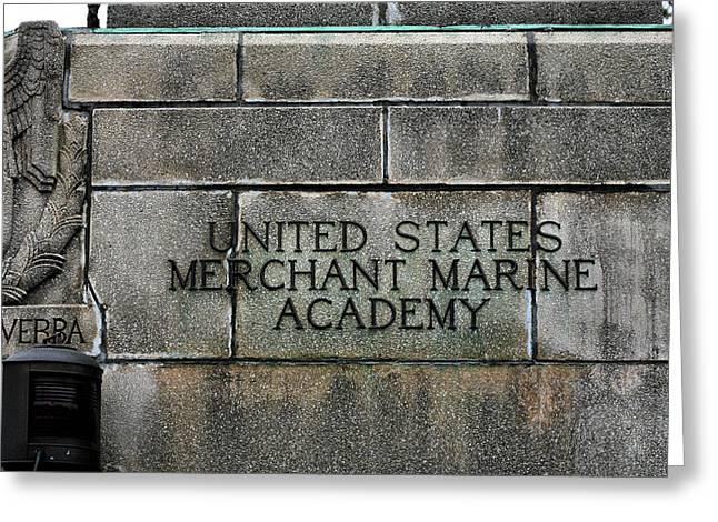 The United States Merchant Marine Academy  Greeting Card
