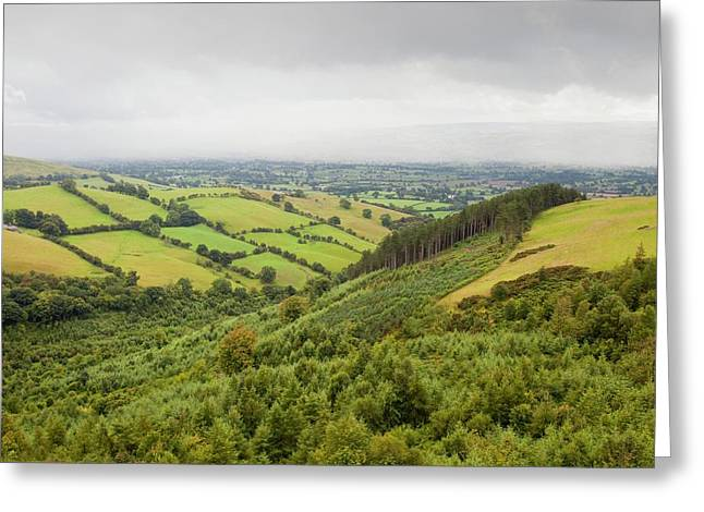 The Vale Of Clwyd Greeting Card