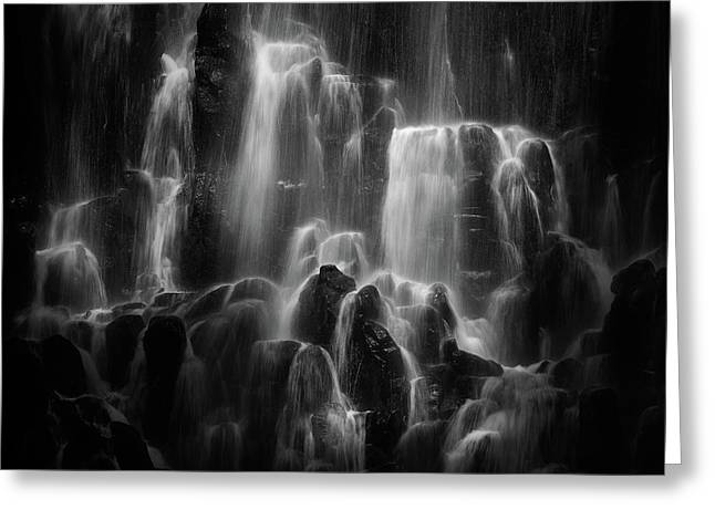 The Veiled Beings --- Ramona Falls Greeting Card