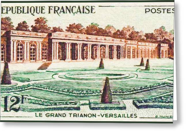 The Versailles Versailles-grand Greeting Card