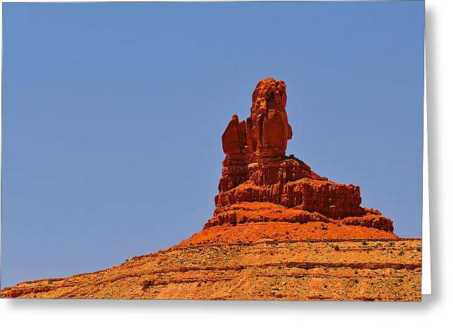 The Vibe Of Valley Of The Gods Utah Greeting Card by Christine Till