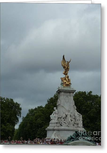 The Victoria Memorial In London Greeting Card