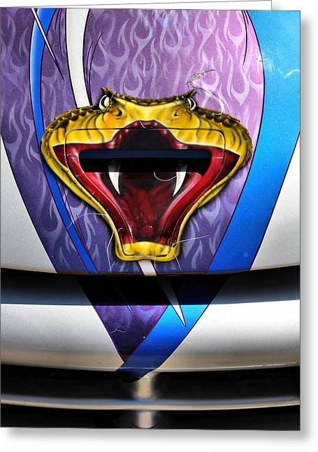 The Viper Greeting Card by Brian Davis