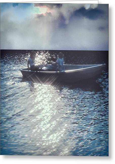 The Voyage Together Greeting Card by Kellice Swaggerty