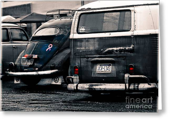 The Wagens  Greeting Card by Steven Digman