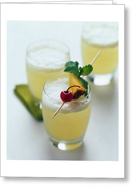 The Wahine Cocktail Greeting Card
