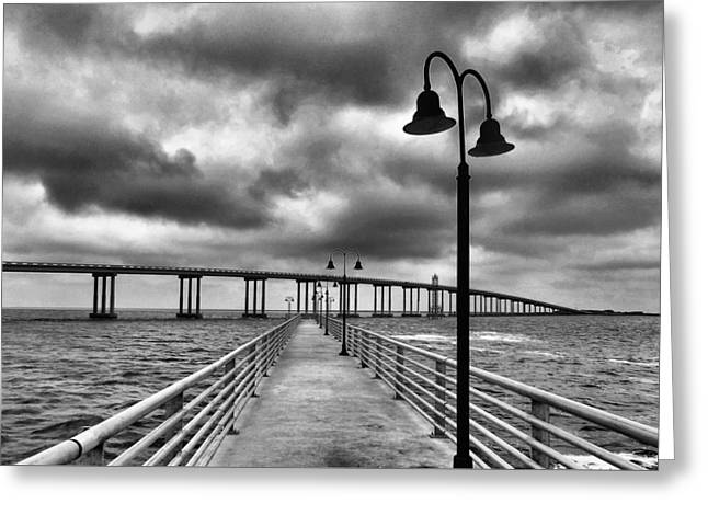 The Walk Greeting Card by Dan Sproul