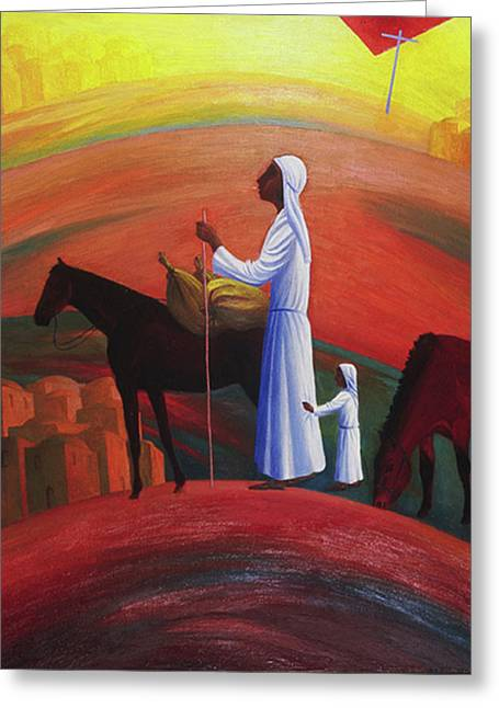 The Wandering Mary Magdalene Greeting Card
