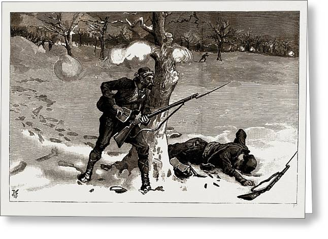 The war between serbia and bulgaria 1886 christmas drawing by litz the war between serbia and bulgaria 1886 christmas greeting card by litz collection m4hsunfo