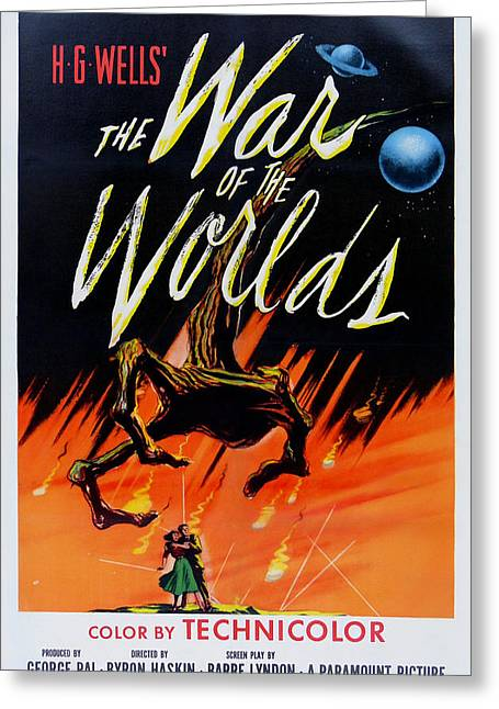 The War Of The Worlds Greeting Card