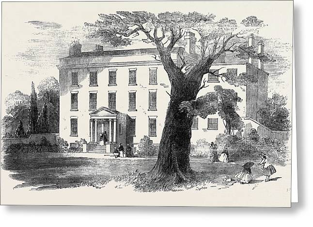 The Warehousemen And Clerks Schools, Hatcham-grove House Greeting Card by English School