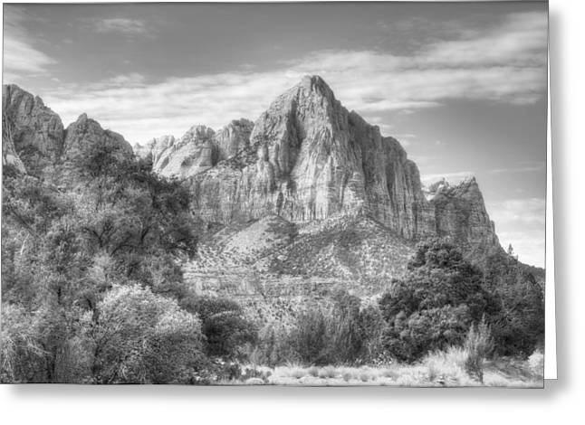 The Watchman Greeting Card by Jeff Cook