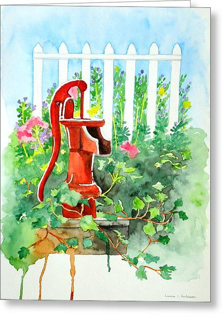 The Water Pump Greeting Card