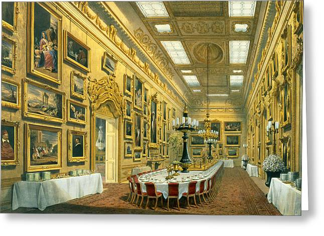 The Waterloo Gallery, Apsley House Greeting Card