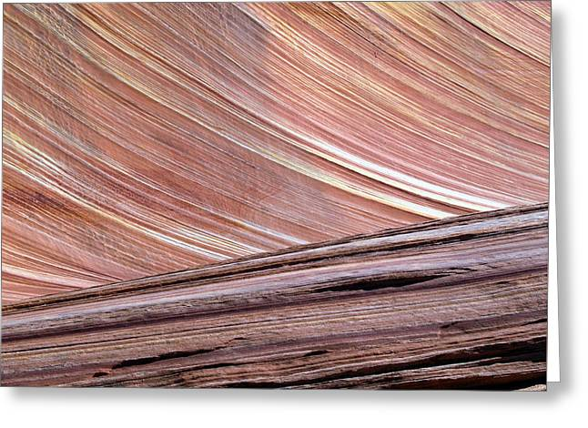 'the Wave' North Coyote Buttes 02 Greeting Card