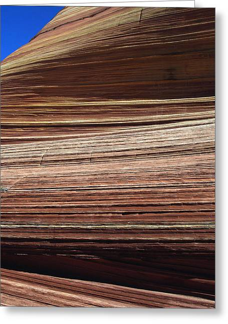 Greeting Card featuring the photograph 'the Wave' North Coyote Buttes 06 by Jeff Brunton