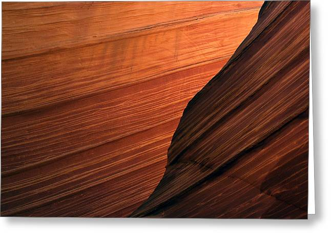 'the Wave' North Coyote Buttes 47 Greeting Card