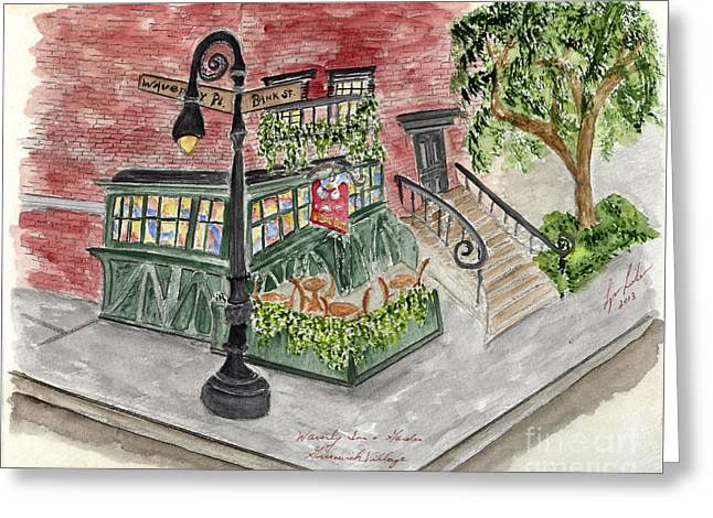 The Waverly Inn And Garden Greeting Card