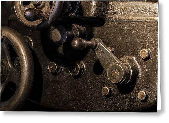 The Way Back Machine Greeting Card by Andrew Pacheco