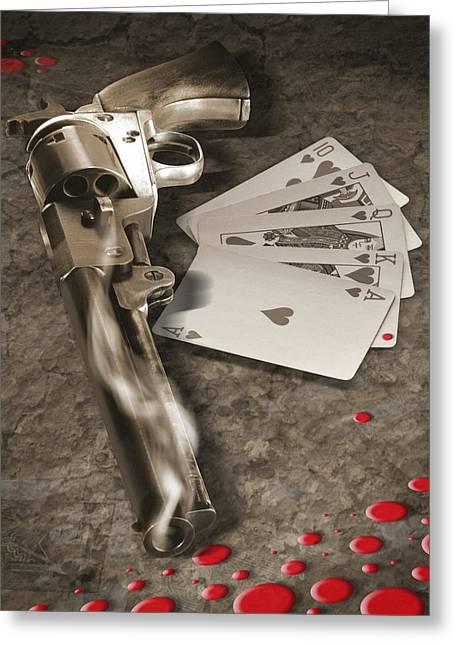 The Way Of The Gun 2 Greeting Card