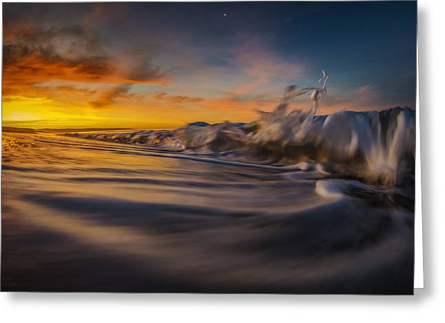 The Way Of The Wave Greeting Card by Sean Foster