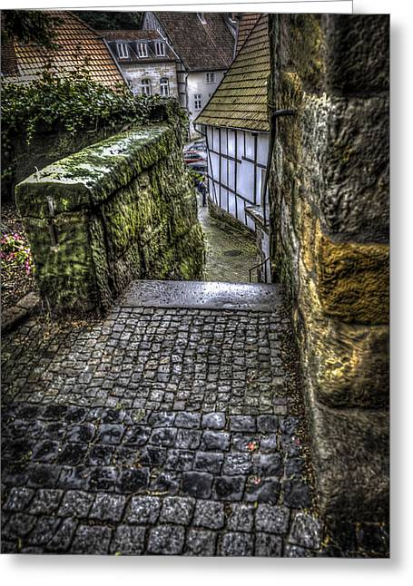 The Way Pt 1 Greeting Card by David Melville