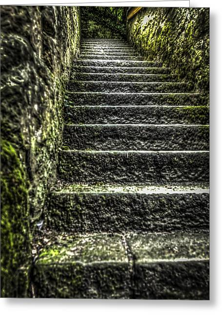 The Way Pt 2 Greeting Card by David Melville