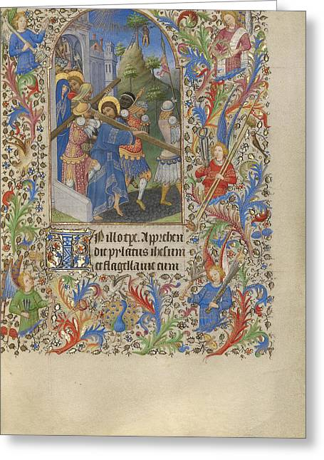 The Way To Calvary Spitz Master, French Greeting Card
