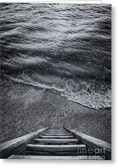 The Way To Unknown Greeting Card by Svetlana Sewell