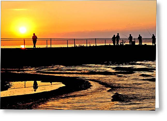 The Weekend Greeting Card by Frozen in Time Fine Art Photography